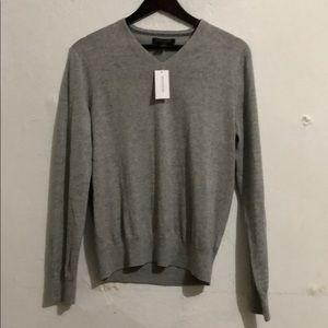 Banana Republic mens' gray sweater V-neck size S
